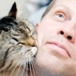 cat and manshutterstock_99890441