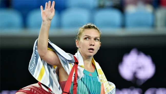 No. 2 Simona Halep stunned by Zhang Shuai at Aussie Open