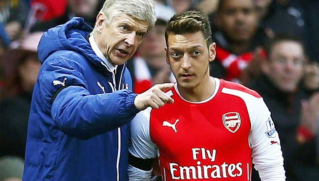 Wenger-reveals-secret-of-Ozil's-success