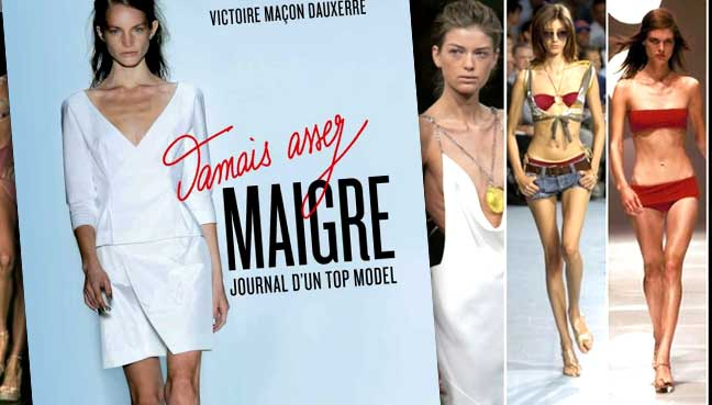 Ex-top model holds fashion world to account on anorexia