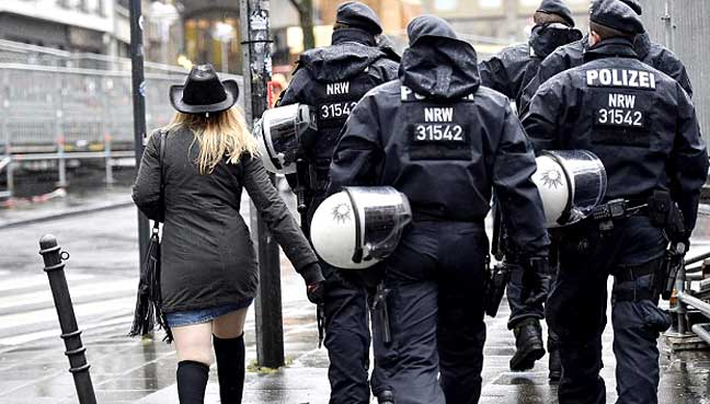 rise offence complaints cologne karneval