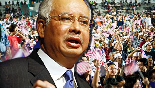 Don't take what belongs to rakyat, Najib tells civil servants