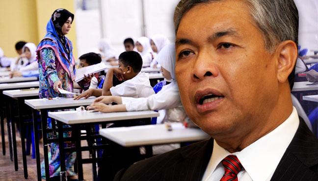 Zahid: Teachers should focus on teaching, not admin work