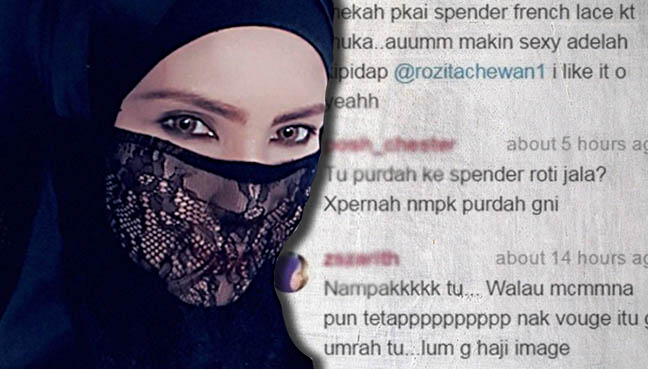 purdah che ta disamakan spender roti jala free malaysia today