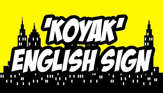 koyak-english