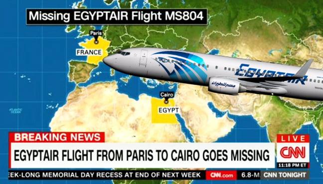 flug egypt air ms804