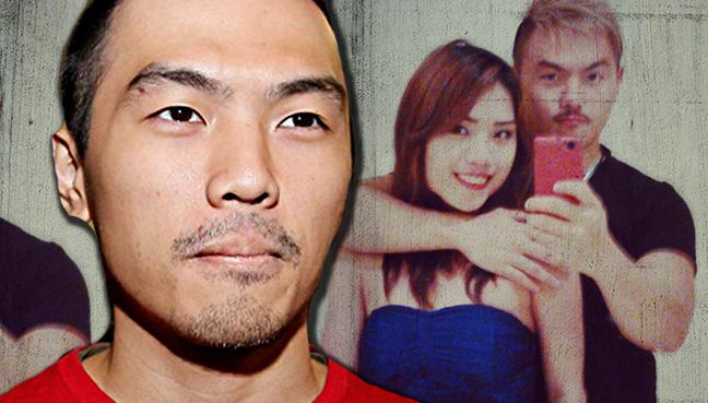 She's not my ex-girlfriend, for god's sake!' says Alvin Tan