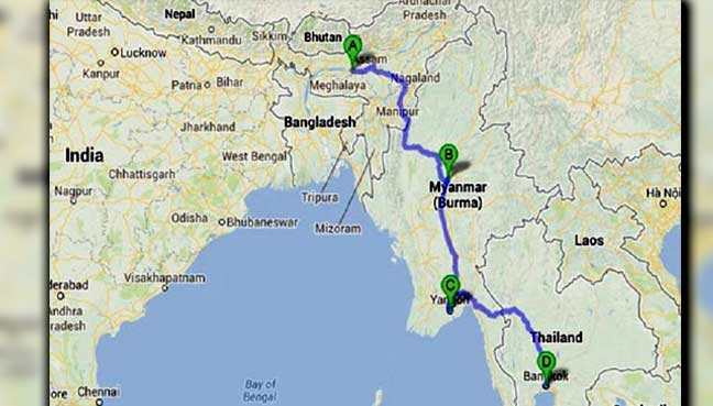 India thailand myanmar to be connected with 1400km road free india thailand myanmar to be connected with 1400km road free malaysia today gumiabroncs Gallery