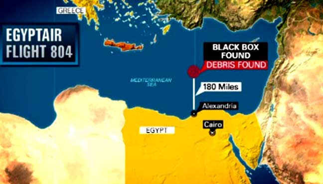 EgyptAir black box recovered from crash site in Mediterranean
