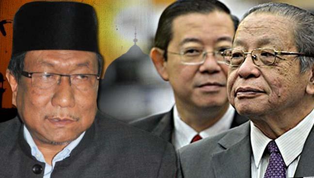 Lim Kit Siang, Lim Guan Eng, Abdul Rahman Osman