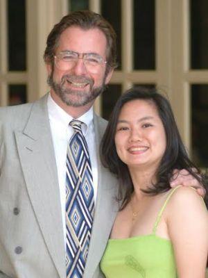 Diong Chae Lian and her husband Richard Gardner