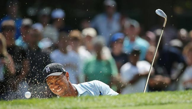 Tiger Woods listed on updated field for PGA Championship