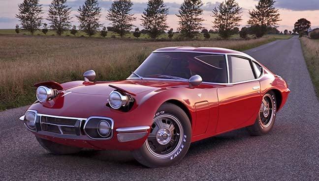 A 1967 Toyota 2000GT