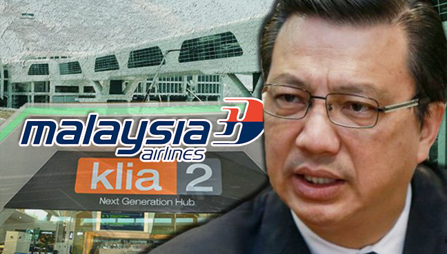 Liow: MAS Is Welcome To Operate From KLIA2 For Low Aiport Tax