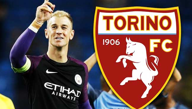 Out-of-favour-Manchester-City-goalkeeper-Joe-Hart-has-joined-Italian-club-Torino-on-a-season-long-loan,-the-Premier-League-side-announced-on-Wednesday.