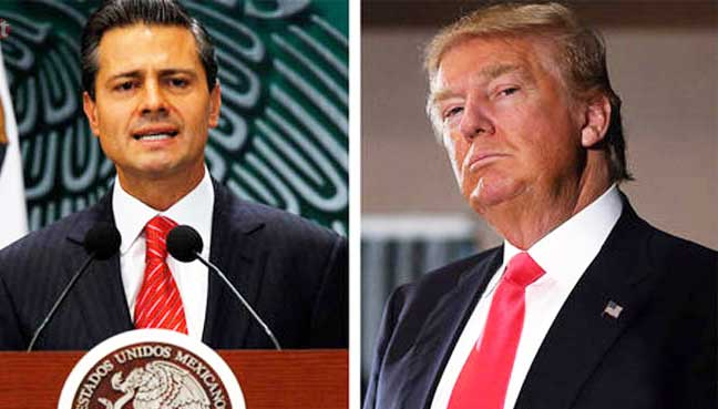Trump-to-Meet-Mexican-President
