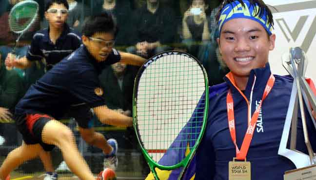 Squash prodigy Eain Yow becomes second Malaysian to clinch World Junior title