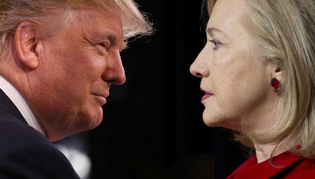 What do Clinton and Trump need to accomplish in the debates?