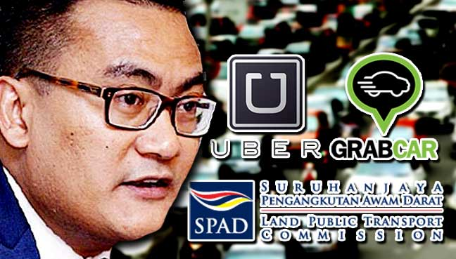 Uber And Grabcar Approved By Malaysia's Land Public Transport Commission