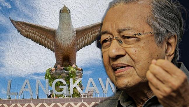 Bahasa, tugu helang, Dr Mahathir, langkawi, Mufti Perak, patung, Islam