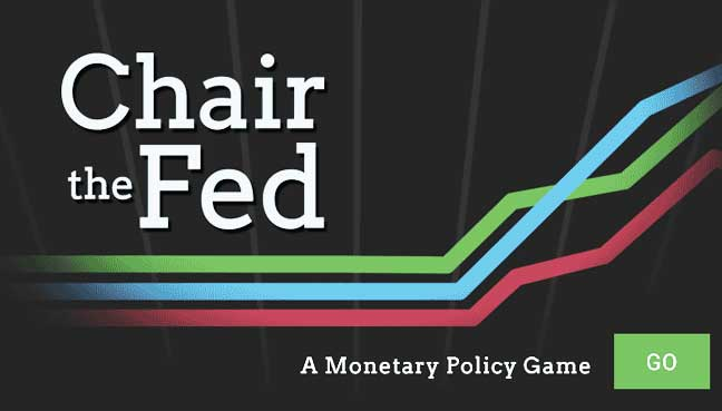 Think you re smarter than janet yellen play chair the for Chair of the fed game