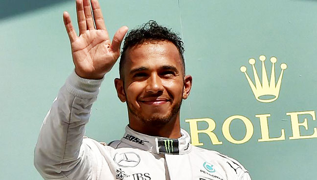 Hamilton on pole for third year in a row at Monza