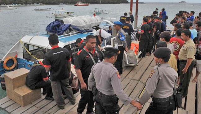 Honeymooning Spaniard killed in Bali boat blast