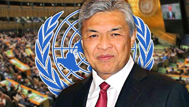 United Nations zahid