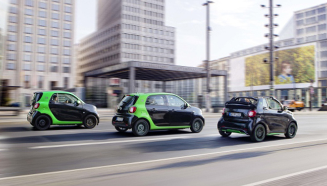 New Smart ForTwo Electric Drive Heads to USA in Spring 2017