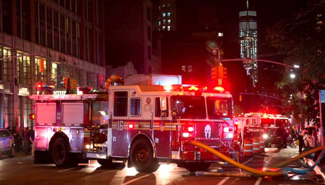 Pipe Bombs Found in Elizabeth, New Jersey Train Station, One Explodes