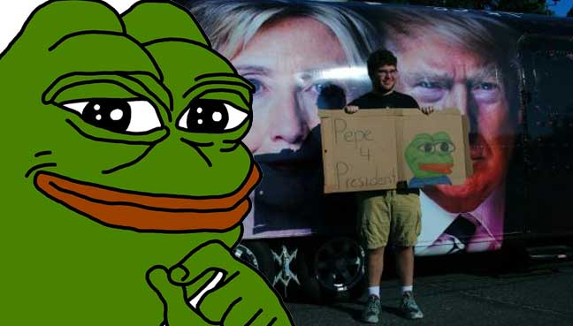 Us Jewish Group Assails Frog Meme As Hate Symbol Free