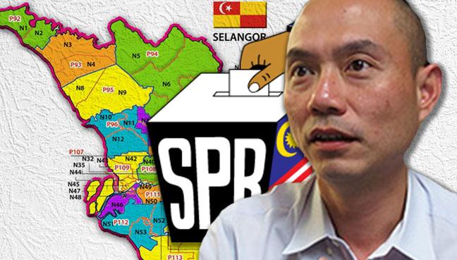 persempadanan di Selangor dan Kuala Lumpur