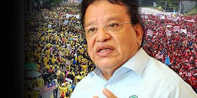 Bersih, Red Shirts, election violence, Tengku Adnan Tengku Mansor 2