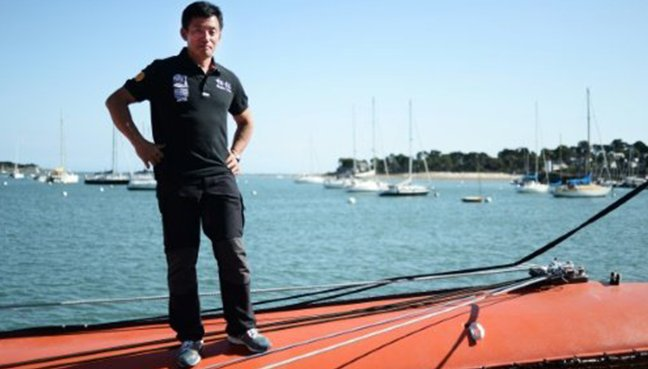 China sailing star disappears in Pacific