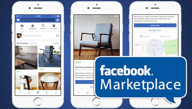 facebook launches marketplace for local buying and selling free malaysia today. Black Bedroom Furniture Sets. Home Design Ideas