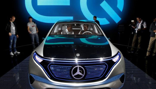 First Mercedes car under new electric brand to be made in Bremen