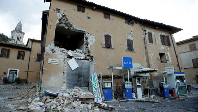 Italian earthquakes cause widespread damage, but kill no one