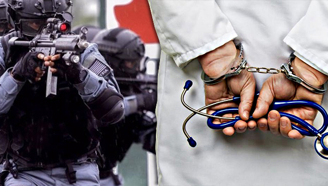Pasukan elit polis silap cekup doktor muda di Hospital Serdang