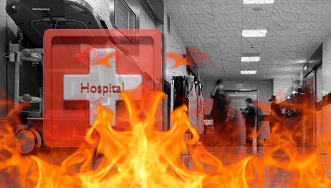 Semen remains hospital fire and penetration