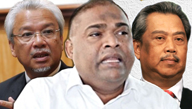 Umno MP hits out at 'opposition stooges' Muhyiddin, Husni