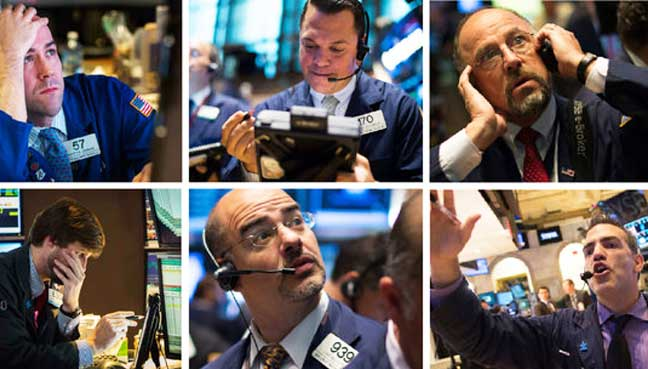 Wall-Street-sells-off-on-weak-earnings,-election-fears