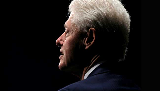 Bill Clinton 'for profit' income detailed in hacked email