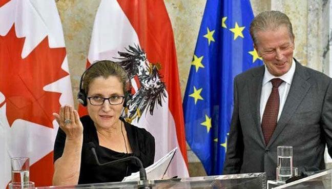 Belgium urged to break EU-Canada trade deadlock by Monday