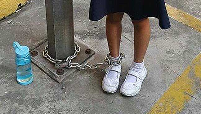 chained,-girl,-tough-love,-sunway,-police
