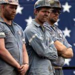 coal-miners-american-flag