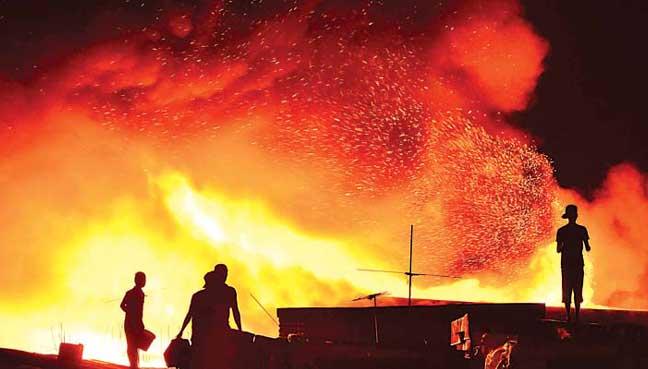 Mayor: Fatalities in Philippine fireworks blaze