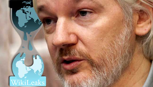 Assange's internet 'temporarily' cut over WikiLeaks releases