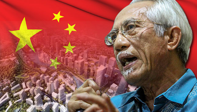 Malaysia PM takes dig at West in China article