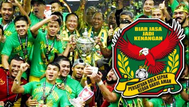 Image result for persatuan bola sepak kedah