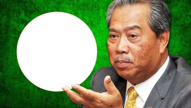 image Malay atas bendera parti politik